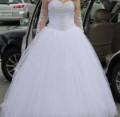 Свадебное платье с красивым расшитым корсетом, одежда красивая комплекты, Комсомольск-на-Амуре