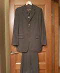 Деловой костюм мужской sarar темного серого цвета, костюмы хендерсон цена, Москва