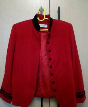 Красный женский пиджак, купить худи суприм луи виттон, Владимир, цена: 300р.