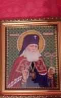 Икона из бисера. Архиепископ Лука, Лунёво