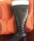 Продажа женской обуви больших размеров, сапоги зимние натуральные. Скидка 30 процентов, Архангельск