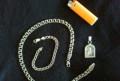 Серебряные цепь, браслет, кулон, Иваново