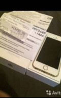 IPhone 5s, оригинал, с Touch ID, 16GB, коробка, докумен, Новокузнецк