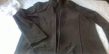 Костюм велюровый-куртка и брюки. 46-48. новый, платье из льна для полных женщин купить, Энгельс, цена: 1 000р.