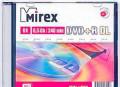 Диск mirex DVD+R DL 8x slim, Родионово-Несветайская