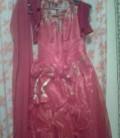 Платья на выпускной маме, красное платье, шарфик и перчатки, Кондопога