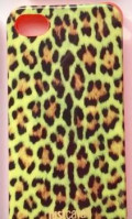IPhone 4 4s чехол Cavalli леопард Светло-Зеленый, Урень