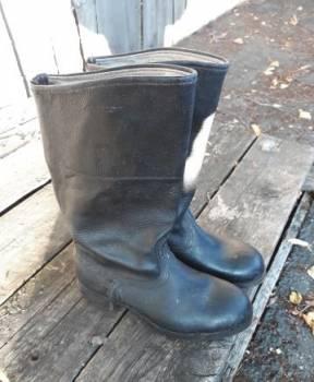 Купить мужские ботинки аляска, юфтевые сапоги, Ковров, цена: 1 350р.