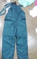 Мужские джинсы на аукро, полукомбинезон (брюки) утепленные 52-170, Омск