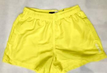 Рубашка в клетку мужская с черным купить, шорты плавки Reebok жёлтые, Вологда, цена: 700р.