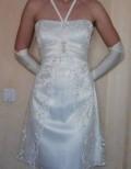 Платье с длинным рукавом зеленого цвета, свадебное платье + перчатки, Полярный