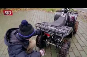 Детский квадроцикл Кольт-800W Карбон
