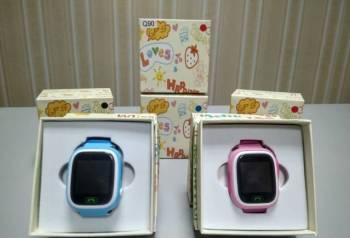 Умные детские часы с gps Q90, гарантия