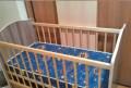Продается детская кровать с матраcом, Фрязино