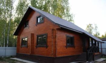 Дом 110 м² на участке 6 сот