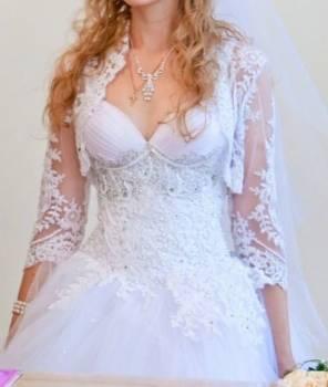 Очень красивое эксклюзивное свадебное платье, комплект нижнего белья кошка, Ростов-на-Дону, цена: 16 000р.