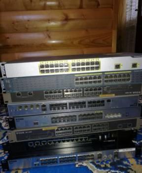 Сетевое оборудование: Сisco and D-link