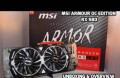 Видеокарта MSI Radeon RX 580 armor 8GB OC 256 gddr, Ликино-Дулево