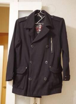 Пальто мужское 48 размер, свитер с косами для начинающих, Саки, цена: 500р.