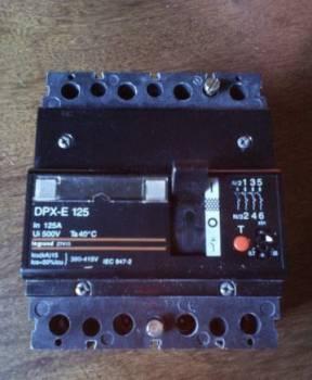 Legrand DPX-E 125 (автомат)