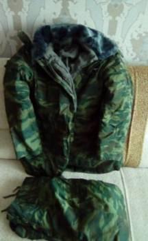 Костюм военный камуфляж зимний(флора), Назарово, цена: 2 500р.
