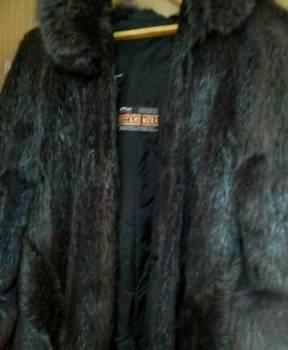 Шуба нутрия, платье с вырезом ромб, Московский, цена: 5 000р.