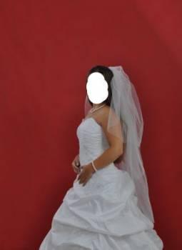 """Свадебное платье из """"версаля"""", женская одежда на лето больших размеров, Сонково, цена: 1 800р."""