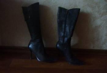 Кеды vans sk8-hi black, сапоги осенние кожаные, Ульяновск, цена: 300р.