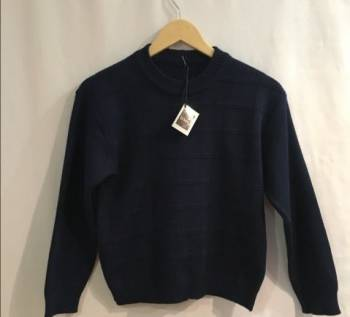 Тёмно-синий тёплый джемпер D M G (Германия), футболки с хорошим принтом, Вологда, цена: 400р.