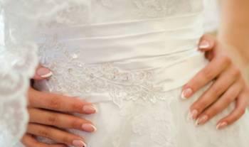 Вечернее платье для беременных розового цвета, свадебное платье со шлейфом, Муром, цена: 3 000р.