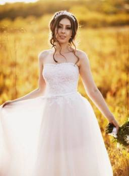Продам свадебное платье, свадебные платья с рукавами без шлейфа, Благовещенск, цена: 20 000р.