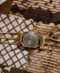 Советские механические часы Luch c позолотой, Чаадаевка
