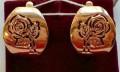 Серьги золото 585 пробы № 030983, Кадуй