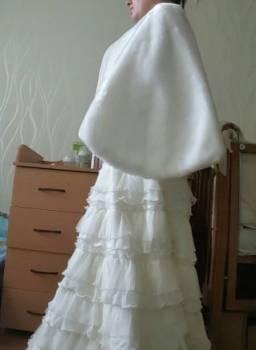 Продам свадебное платье, платья бежевое купить