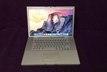 Apple макбук Apple Macbook pro 15 early 2008