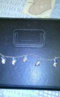 Браслет профиль Нифертити с голубым камнем, Ильиногорск