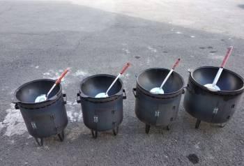 Казан чугунный узбекский 16 литров