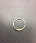 Кольцо золотое с брильянтами 14, 5 размер, Семибратово