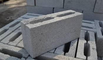 Блоки стеновые керамзитобетонные, бетонные