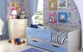 """Детская кровать """"Дельфин"""" с двумя ящиками, Самара"""