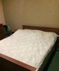Кровать, 2 тумбы, комод, Красноярка