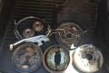Комплект задних дисковых тормозов Шкода Рапид, купить запчасти на шкода октавия, Сосновый Бор