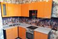 Кухонный гарнитур Валерия-М мдф Оранжевый глянец, Старый Городок