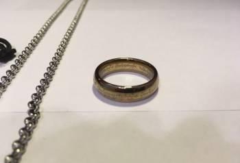 """Кольцо из фильмов """"Властелин колец"""" + кольцо подар"""