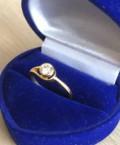 Золотое кольцо с бриллиантом, Мытищи