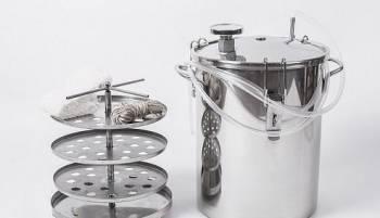 Коптильня горячего копчения в домашних условиях, Астрахань, цена: 4 500р.