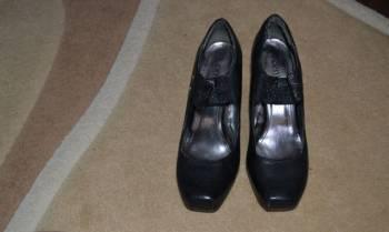 Продам черные туфли, сандалии женские с закрытой пяткой купить недорого, Учалы, цена: 200р.