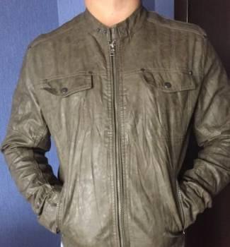 Мужская кожаная куртка, пальто для беременных и после, Кашин, цена: 1 300р.