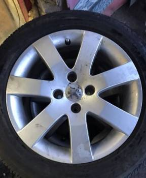 Литые диски Peugeot R16, купить диски на авто из японии недорого, Борисоглебский, цена: 14 900р.
