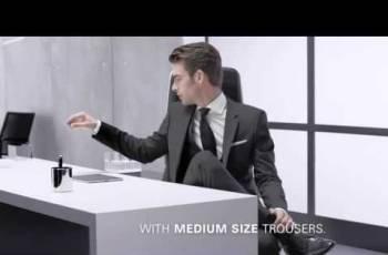 Купить модное пальто большого размера, костюм двойка Hugo Boss (модель Gable/Vegas)